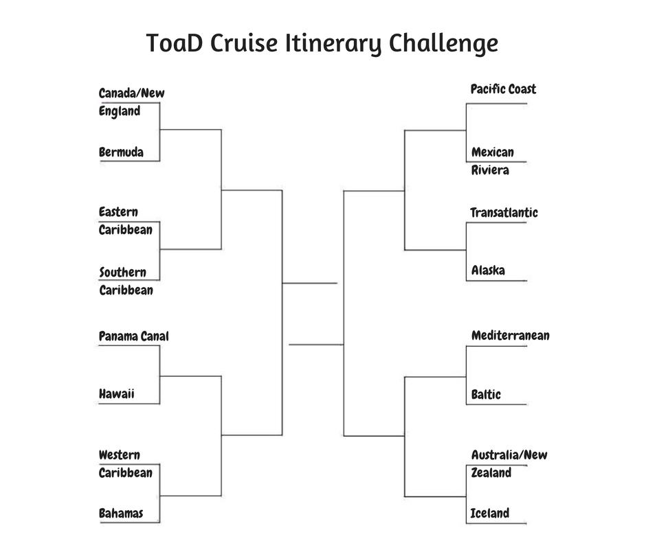 Cruise Itinerary Challenge