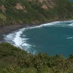St. Kitts black sand