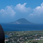 St. Kitts looking towards Saba