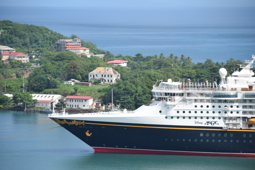 Disney Magic in St. Lucia
