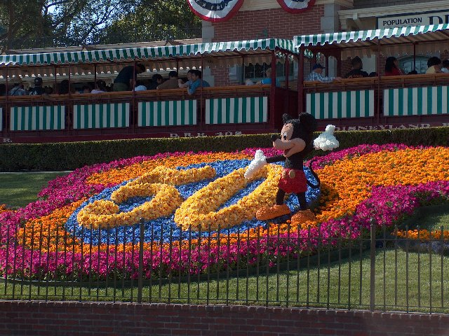 Disneyland during its 50th Celebration