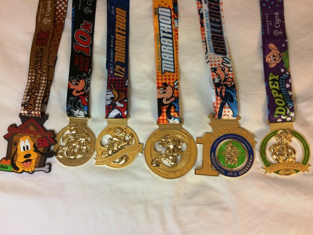 Marathon Week Medals iPhone