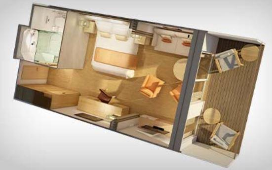 Penthouse junior suite layout u2013 travel on a dream